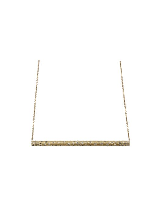 Todd Reed | Metallic Diamond Bar Necklace | Lyst
