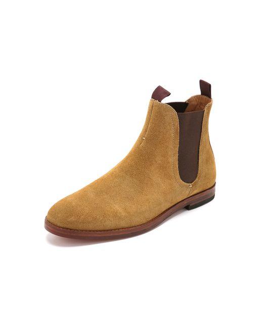 H by Hudson | Natural Tamper Suede Chelsea Boots for Men | Lyst
