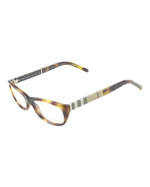 Burberry Eyeglass Frames 2015 : Burberry Be 2167 3316 Light Havana Cat-eye Plastic ...