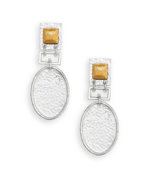 Stephanie Kantis | Metallic Fascination Drop Earrings | Lyst