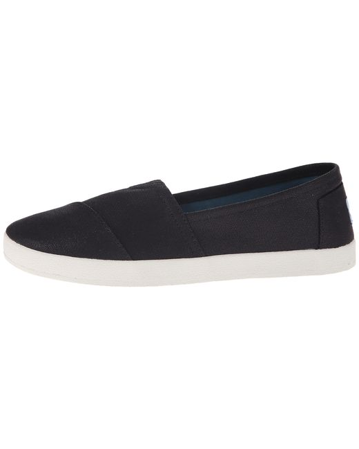 TOMS | Black Avalon Sneaker | Lyst