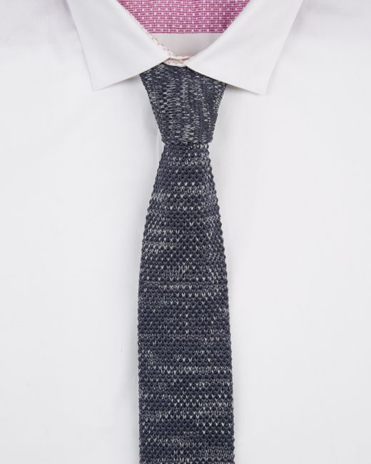 Ted Baker | Gray Tie Textured 5.5cm for Men | Lyst
