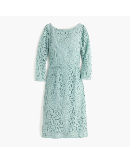 J.Crew | Blue Natalia Lace Dress  | Lyst