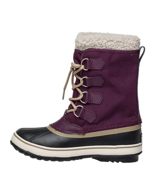 sorel winter carnival in purple lyst