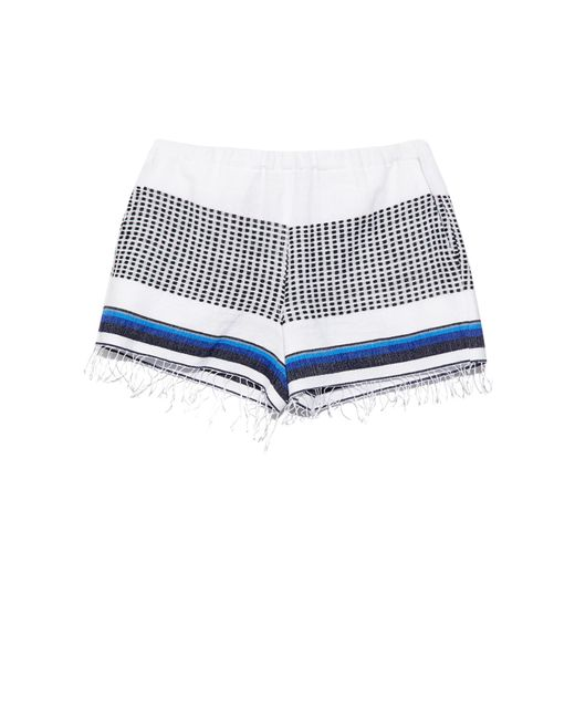 lemlem | Blue Lulu Multi-striped Shorts | Lyst