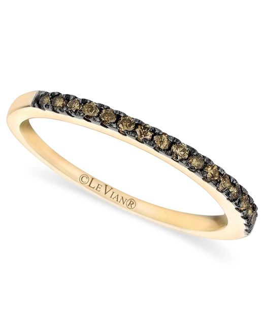 Le Vian | Brown Pave Chocolate Diamond Band (1/4 Ct. T.w.) In 14k Gold | Lyst