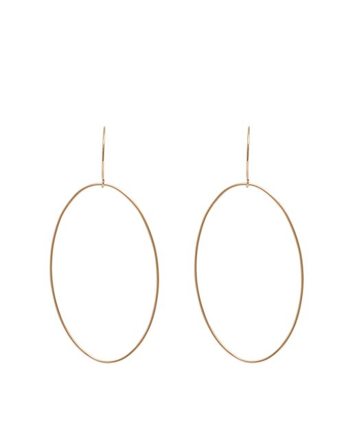 Ginette NY | Pink Bo Ellipse Earrings | Lyst
