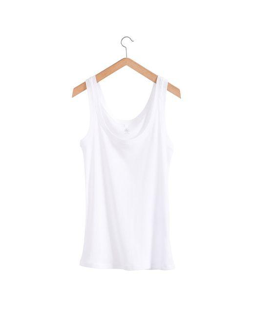 Petit Bateau | White Women's Light Cotton Vest Top | Lyst
