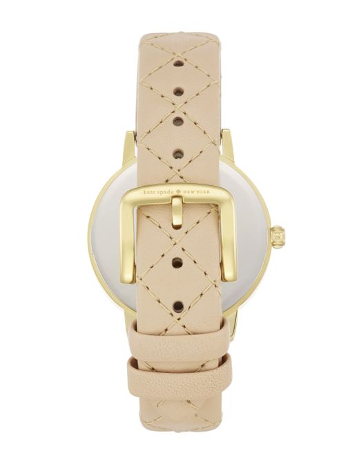 Kate Spade | Natural 5 O'clock Metro Watch | Lyst