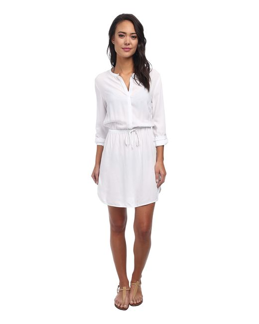 Body Glove | White Pam Shirt Dress Cover-up | Lyst