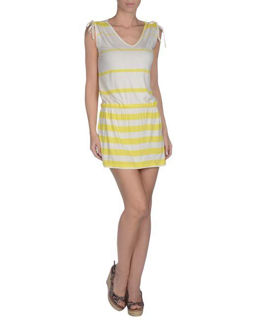 Blugirl Blumarine | Yellow Cover-up | Lyst