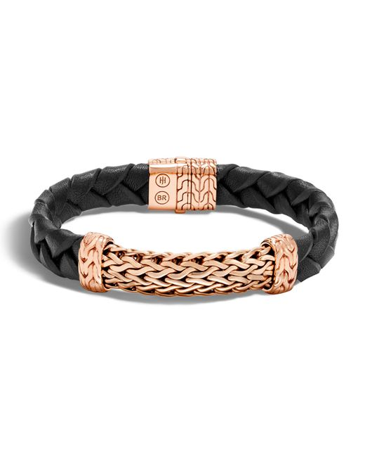 John hardy men 39 s classic chain bronze station bracelet in for John hardy jewelry factory bali