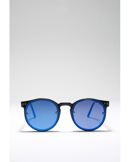 Forever 21 | Blue Spitfire Post Punk Sunglasses | Lyst