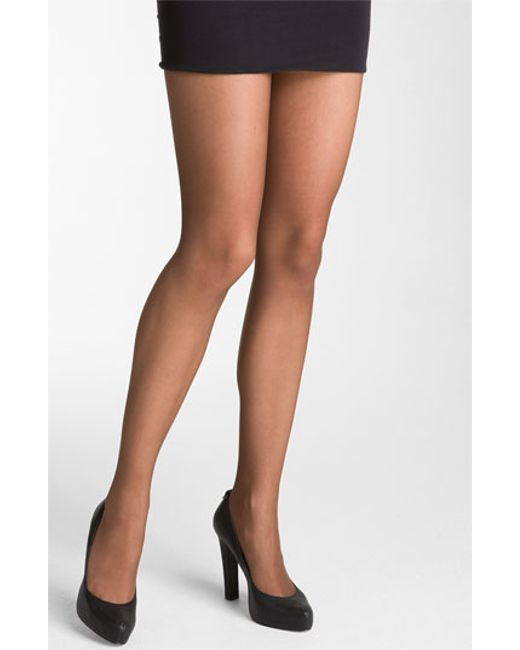 Wolford   Brown 'individual 10' Pantyhose   Lyst