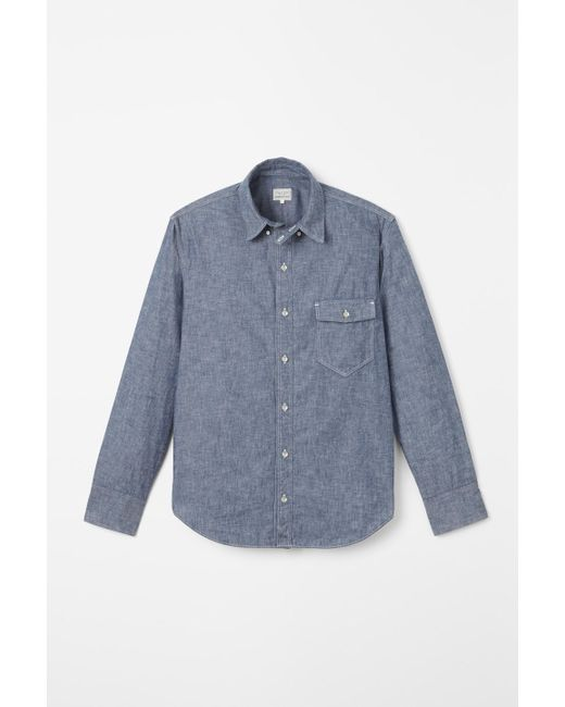 Rag & Bone | Blue Standard Issue Shirt for Men | Lyst