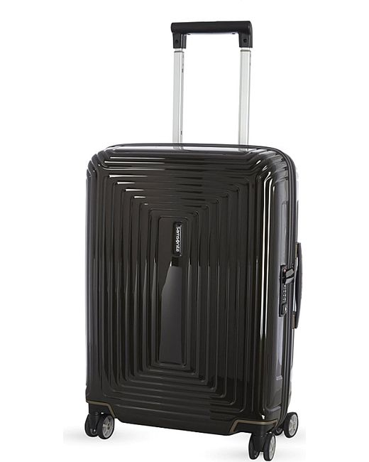 Samsonite | Black Neopulse Four-wheel Spinner Suitcase 55cm for Men | Lyst