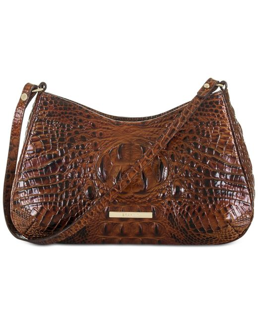 Brahmin | Brown Melbourne Ani Shoulder Bag | Lyst