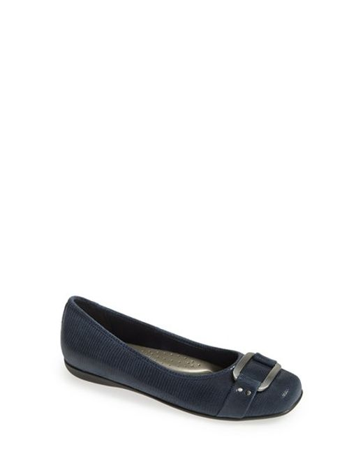 Trotters | Blue 'sizzle Signature' Flat | Lyst