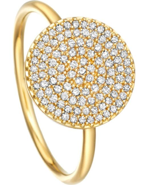 Astley Clarke | Metallic Icon 14ct Yellow-gold Ring | Lyst