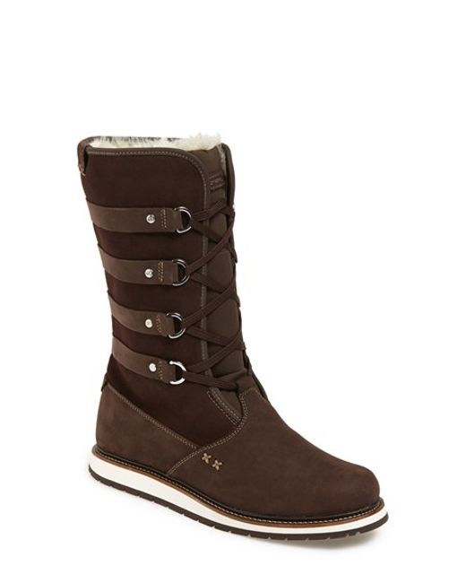 Helly Hansen | Brown 'hedda' Boot | Lyst