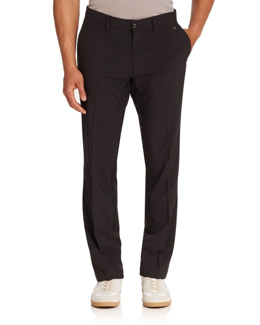 J.Lindeberg | Black Ellot Slim-fit Micro Stretch for Men | Lyst