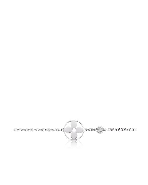 Louis Vuitton | Idylle Blossom Bracelet, White Gold And Diamond | Lyst