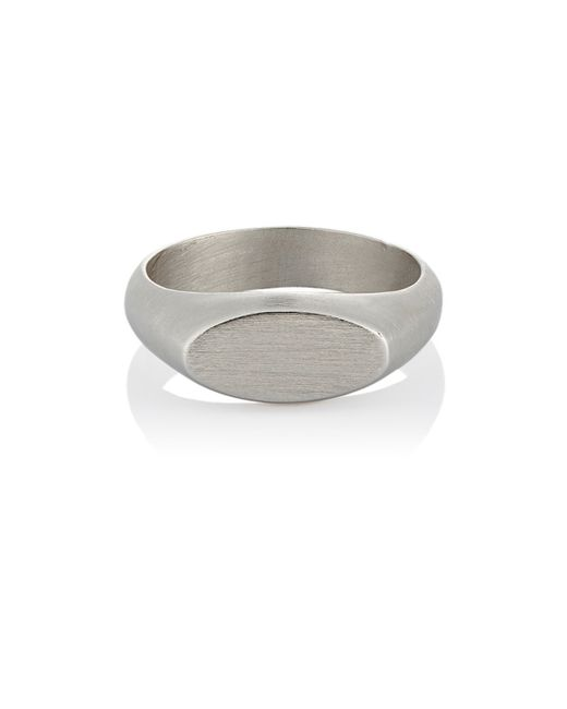 Jennifer Fisher | Metallic Oval Id Ring for Men | Lyst