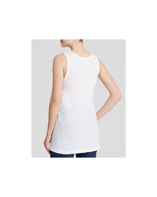 Current/Elliott | White Tee - Muscle | Lyst