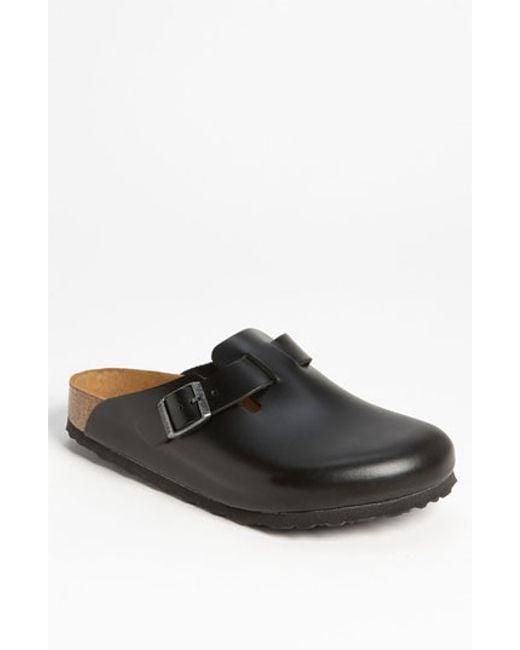 Birkenstock | Black 'boston Soft' Clog for Men | Lyst