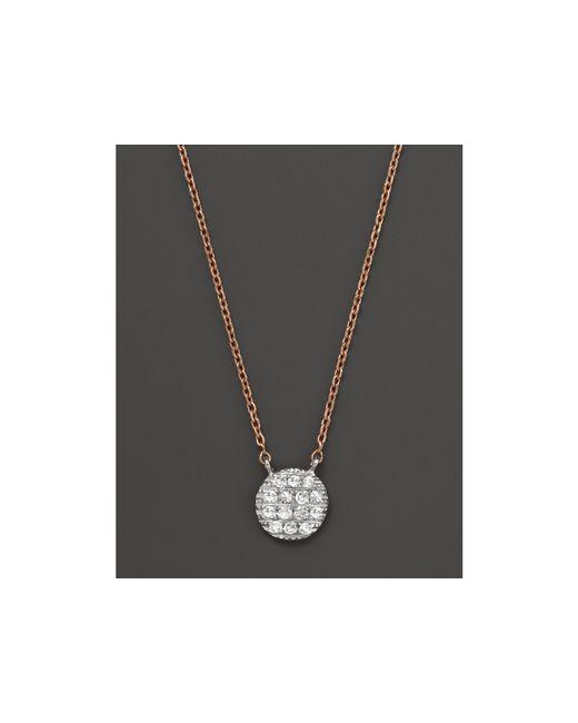 Dana Rebecca | Metallic 14k White & Rose Gold Lauren Joy Mini Necklace With Diamonds | Lyst