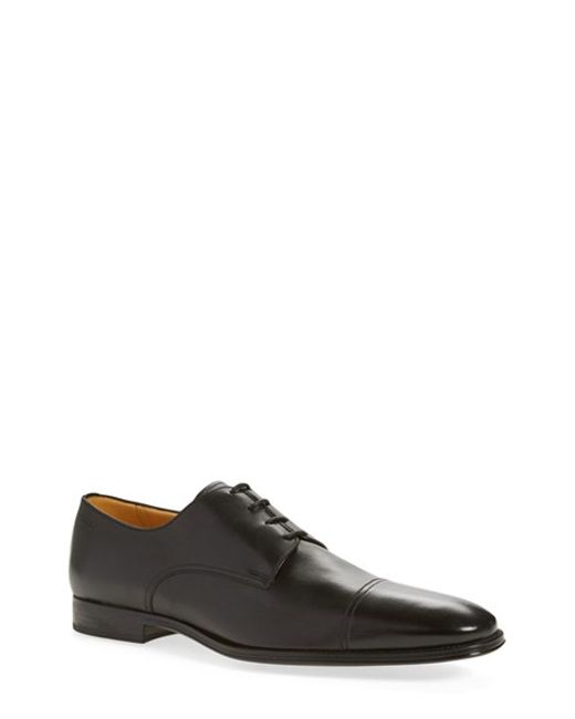 Bally | Black 'timber' Cap Toe Derby for Men | Lyst