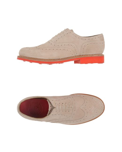 Grenson | Natural Lace-up Shoe for Men | Lyst