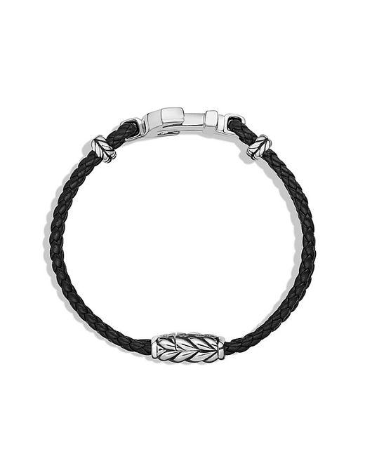 David Yurman | Metallic Pavé Anchor Bracelet With Black Diamonds for Men | Lyst