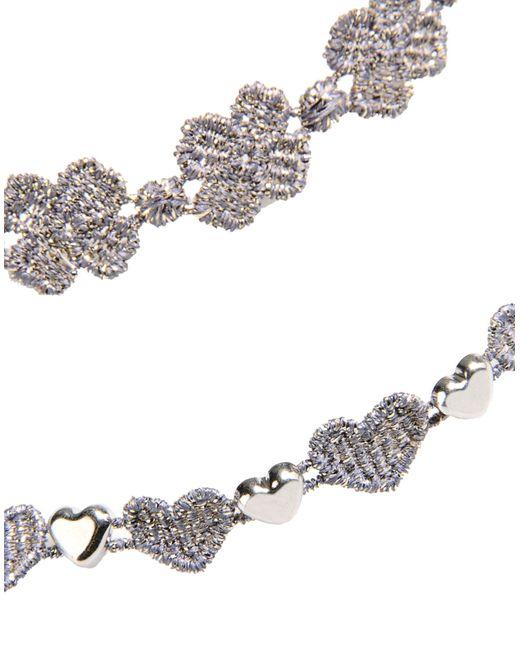 Cruciani Bracelet in Gray (Grey)