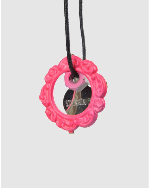 Stefania Pia | Purple Necklace | Lyst