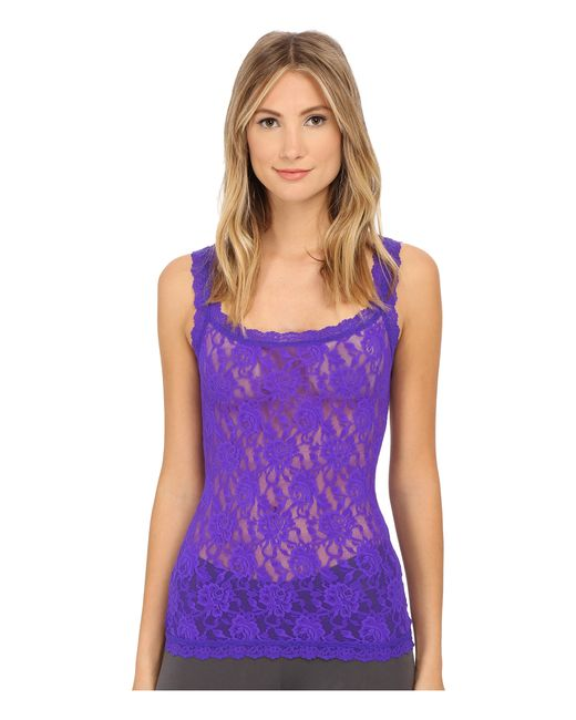 Hanky Panky | Purple Signature Lace Unlined Cami | Lyst