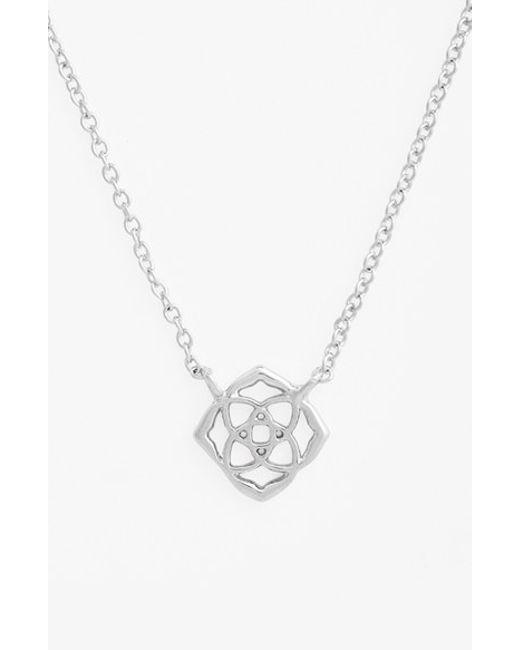 Kendra Scott | Metallic 'decklyn' Pendant Necklace | Lyst