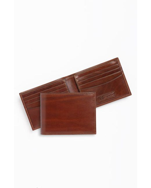 Trafalgar | Natural 'cortina' Bifold Wallet for Men | Lyst