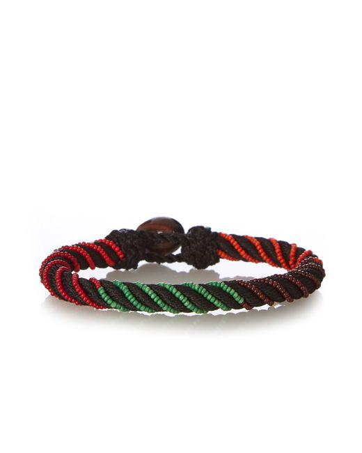 Aurelie Bidermann | Black Maya Bead-embellished Bracelet | Lyst