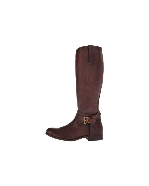 Frye | Brown Melissa Knotted Tall | Lyst
