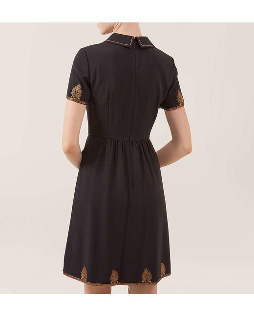 Hobbs | Black Pump Dress | Lyst