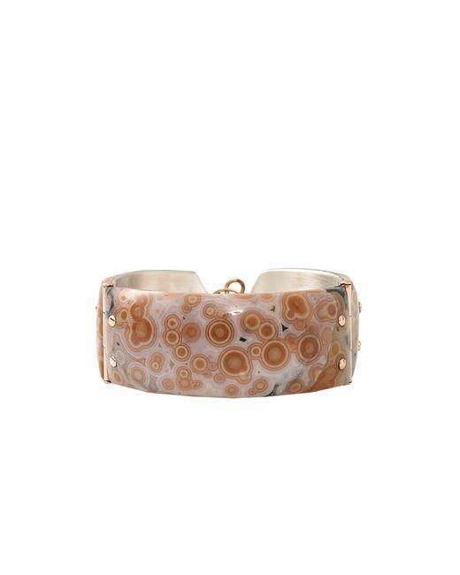 Federica Rettore | Pink Gea Cuff Bracelet | Lyst
