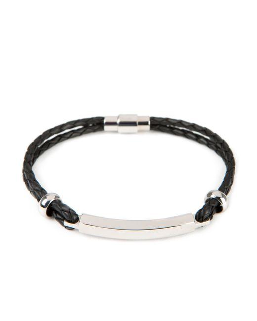 Ted Baker | Black Identib Bar Detail Bracelet for Men | Lyst
