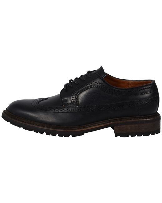 Frye | Black James Lug Wingtip for Men | Lyst