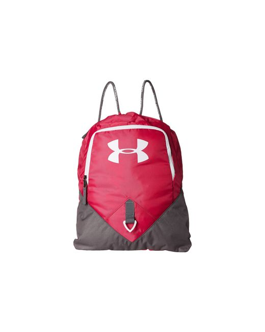 Under Armour | Red Ua Undeniable Sackpack | Lyst