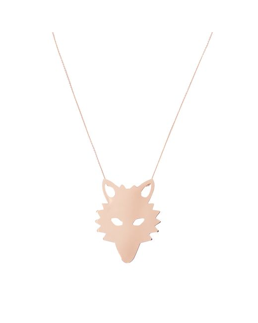 Ginette NY | Metallic Wolf On Chain Necklace | Lyst