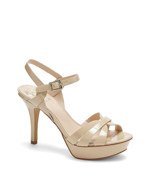 Vince Camuto Peppa Strappy Platform High Heel Sandal In
