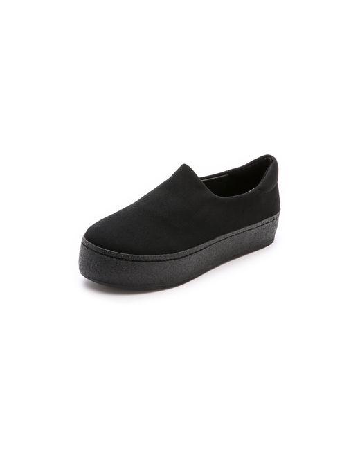 Opening Ceremony | Black Cici Slip On Platform Sneakers | Lyst