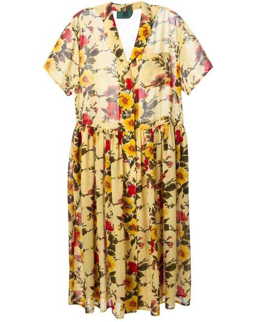 Jean Paul Gaultier   Multicolor Floral Junior Gaultier Dress   Lyst
