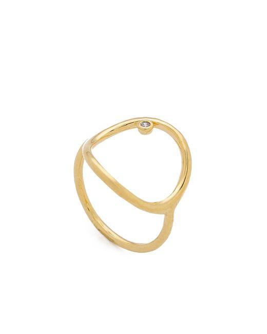 Tai | Metallic Circle Ring | Lyst